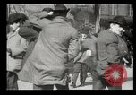 Image of pedestrians New York United States USA, 1903, second 10 stock footage video 65675073423