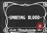 Image of Sporting Blood paper print Saint Louis Missouri USA, 1904, second 2 stock footage video 65675073429