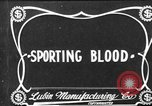 Image of Sporting Blood paper print Saint Louis Missouri USA, 1904, second 3 stock footage video 65675073429
