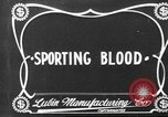 Image of Sporting Blood paper print Saint Louis Missouri USA, 1904, second 4 stock footage video 65675073429