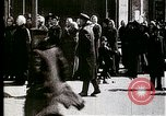 Image of Busy Russian street with pedestrians and streetcar Russia Soviet Union, 1920, second 3 stock footage video 65675073436