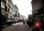 Image of Busy Russian street with pedestrians and streetcar Russia Soviet Union, 1920, second 8 stock footage video 65675073436