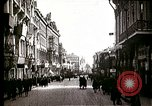 Image of Busy Russian street with pedestrians and streetcar Russia Soviet Union, 1920, second 9 stock footage video 65675073436