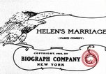 Image of Helen's Marriage New York United States USA, 1912, second 5 stock footage video 65675073460
