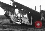 Image of tractor plows Holland Netherlands, 1954, second 1 stock footage video 65675073518
