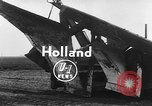 Image of tractor plows Holland Netherlands, 1954, second 4 stock footage video 65675073518