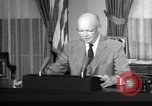 Image of President Eisenhower Washington DC USA, 1957, second 1 stock footage video 65675073521