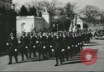 Image of full honor funeral Washington DC USA, 1955, second 2 stock footage video 65675073538