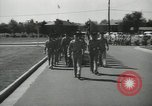Image of graduation day parade Fort Dix New Jersey USA, 1955, second 5 stock footage video 65675073543