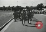Image of graduation day parade Fort Dix New Jersey USA, 1955, second 6 stock footage video 65675073543