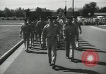 Image of graduation day parade Fort Dix New Jersey USA, 1955, second 9 stock footage video 65675073543