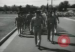 Image of graduation day parade Fort Dix New Jersey USA, 1955, second 10 stock footage video 65675073543