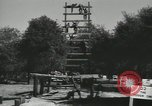 Image of Company E 1st Training Regiment trainees Fort Dix New Jersey USA, 1955, second 5 stock footage video 65675073548