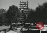 Image of Company E 1st Training Regiment trainees Fort Dix New Jersey USA, 1955, second 7 stock footage video 65675073548