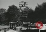 Image of Company E 1st Training Regiment trainees Fort Dix New Jersey USA, 1955, second 8 stock footage video 65675073548