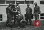 Image of Company E 1st Training Regiment trainees Fort Dix New Jersey USA, 1955, second 12 stock footage video 65675073548