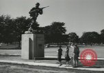Image of Company E 1st Training Regiment Fort Dix New Jersey USA, 1955, second 6 stock footage video 65675073550