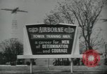 Image of United States Army Airborne soldiers United States USA, 1955, second 2 stock footage video 65675073603