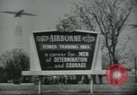 Image of United States Army Airborne soldiers United States USA, 1955, second 7 stock footage video 65675073603