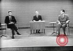 Image of presidential election debate Chicago Illinois USA, 1960, second 5 stock footage video 65675073630