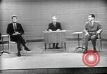 Image of presidential election debate Chicago Illinois USA, 1960, second 6 stock footage video 65675073630