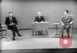 Image of presidential election debate Chicago Illinois USA, 1960, second 7 stock footage video 65675073630