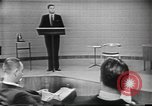 Image of presidential election debate Chicago Illinois USA, 1960, second 4 stock footage video 65675073638
