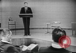 Image of presidential election debate Chicago Illinois USA, 1960, second 5 stock footage video 65675073638