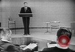 Image of presidential election debate Chicago Illinois USA, 1960, second 6 stock footage video 65675073638