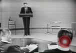 Image of presidential election debate Chicago Illinois USA, 1960, second 8 stock footage video 65675073638