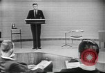 Image of presidential election debate Chicago Illinois USA, 1960, second 12 stock footage video 65675073638
