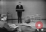 Image of presidential election debate Chicago Illinois USA, 1960, second 11 stock footage video 65675073640