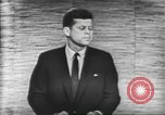 Image of presidential election debate Washington DC USA, 1960, second 1 stock footage video 65675073644