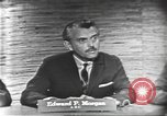 Image of presidential election debate Washington DC USA, 1960, second 5 stock footage video 65675073644