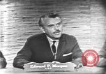 Image of presidential election debate Washington DC USA, 1960, second 9 stock footage video 65675073644