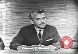 Image of presidential election debate Washington DC USA, 1960, second 10 stock footage video 65675073644