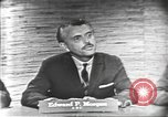 Image of presidential election debate Washington DC USA, 1960, second 11 stock footage video 65675073644