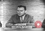 Image of presidential election debate Washington DC USA, 1960, second 2 stock footage video 65675073645