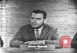Image of presidential election debate Washington DC USA, 1960, second 7 stock footage video 65675073645