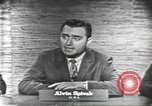 Image of presidential election debate Washington DC USA, 1960, second 11 stock footage video 65675073645