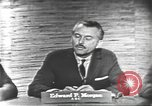 Image of presidential election debate Washington DC USA, 1960, second 10 stock footage video 65675073646