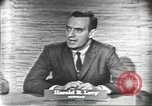Image of presidential election debate Washington DC USA, 1960, second 8 stock footage video 65675073647