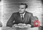 Image of presidential election debate Washington DC USA, 1960, second 12 stock footage video 65675073647