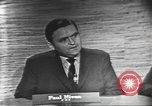 Image of presidential election debate Washington DC USA, 1960, second 6 stock footage video 65675073648