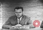 Image of presidential election debate Washington DC USA, 1960, second 6 stock footage video 65675073649