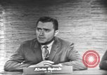 Image of presidential election debate Washington DC USA, 1960, second 7 stock footage video 65675073649