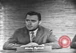 Image of presidential election debate Washington DC USA, 1960, second 11 stock footage video 65675073649