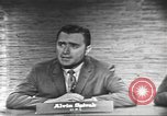 Image of presidential election debate Washington DC USA, 1960, second 12 stock footage video 65675073649