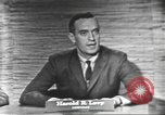 Image of presidential election debate Washington DC USA, 1960, second 6 stock footage video 65675073650