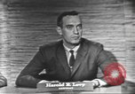 Image of presidential election debate Washington DC USA, 1960, second 8 stock footage video 65675073650